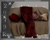 Rus: Ruby Loveseat