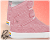 Pink Gay Hightops by Roy