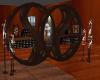 ~TQ~circle bookcase