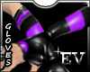EV Purple Rubber Gloves