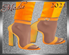 !a Yellow Mango Heels