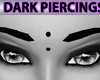 Black Forehead Piercing