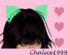 Mint Cat Lace Ears