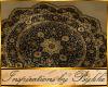 I~Persian Blk Lotus Rug