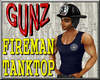 @ Fireman Tanktop Blue