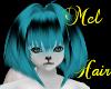 !M Blueblack hair