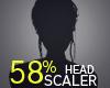 Head Scaler 58%