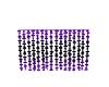 Purple&Black Beaded