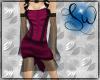 [SW] Tux Dress Magenta