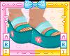 Kids Purrmaid Sandals