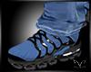 Designed Blue Kicks CC