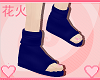 |HK| Blue Ninja Sandals