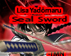 Lisa Yadomaru seal sword