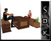 #SDK# Der Wood B&Table