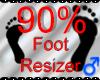 *M* Foot Resizer 90%