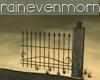 Gothic Fence Piece 2