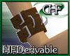 HFD D-ring WristCuff R M