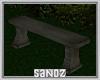 S. Stone Bench