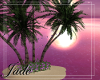 Small Island & Palms