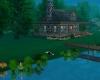 Romantic Tranquil Pond