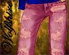 Skinny Pink Jeans (M)