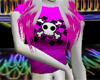 Cute Pink skull tshirt