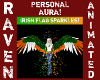 IRISH FLAG SPARKLE AURA!
