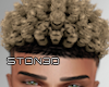 Blonde Curly Fade '20