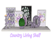 Counrtry Living Shelf