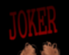 Joker Head Sign