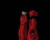 *Red Fur w/blk Ladies