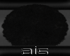 ::Black Shag Rug::