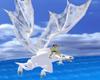 Zaas White Dragon Rideon