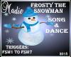 Frosty Snowman S/D