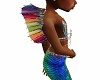 Kids Mermaid Rainbow fin