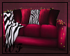 Touch of Zebra couch