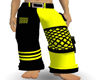 yellow cargos pants