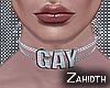 Gay Swarovski Choker