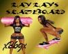 [B69]Ray Rays Skateboard