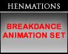 Breakdance Animation SET