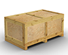 Wooden Crate (unshaded)