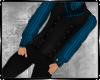 Victorian Suit Blk &Blue