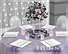 H. Light Lavender Table