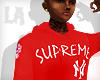 R/ Supreme NYC Yankee