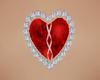 Red Heart Jewel Allie