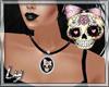 [Ly]Fancy Skull Necklace