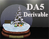 (A) Christmas Snow Globe