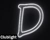 Letter D | Neon