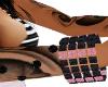 Black & Pink Bracelet(L)