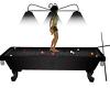 pool table dark